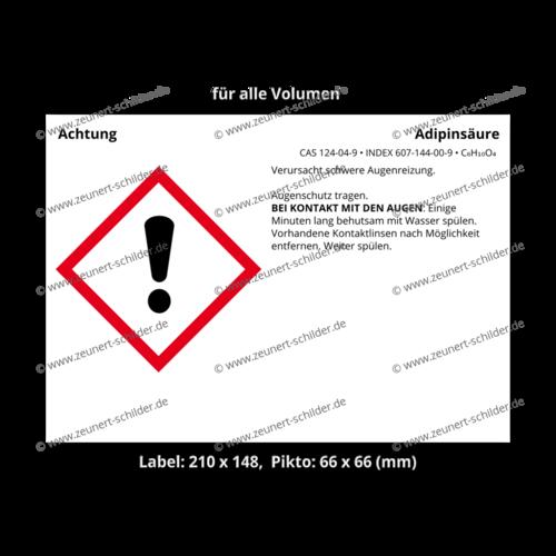 Adipinsäure, CAS 124-04-9