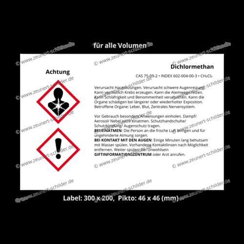 Dichlormethan, CAS 75-09-2