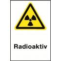 """Kombischild """"Radioaktiv"""" - W003"""