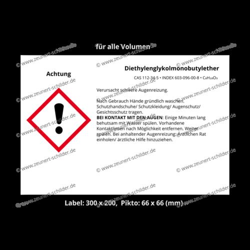 Diethylenglykolmonobutylether, CAS 112-34-5