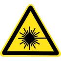 Warnung vor Laserstrahl - W004