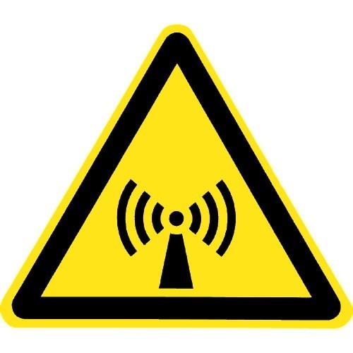 Warnung vor nicht ionisierender Strahlung - W005