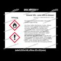 Ethanol 10% – unter 60% (in Wasser), CAS 64-17-5