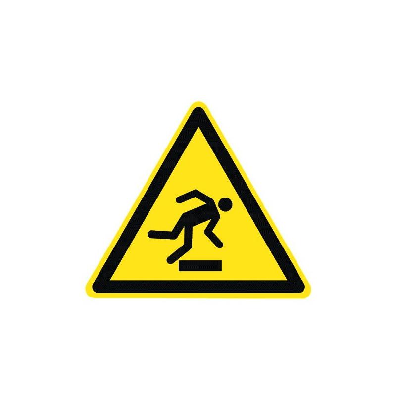 Warnung vor Hindernissen am Boden - W007