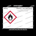 Ethanol 5% – unter 10% (in Wasser), CAS 64-17-5