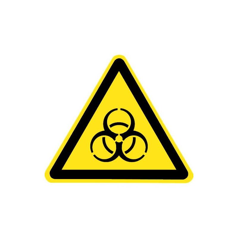 Warnung vor Biogefährdung - W009