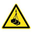 Warnung vor schwebender Last - W015
