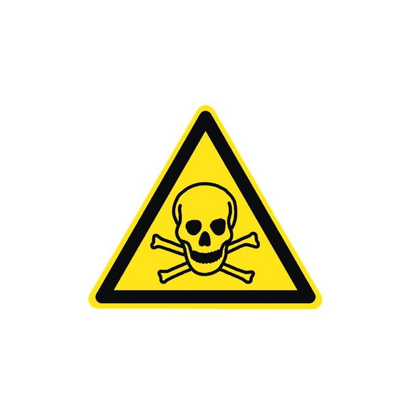 Warnung vor giftigen Stoffen - W016