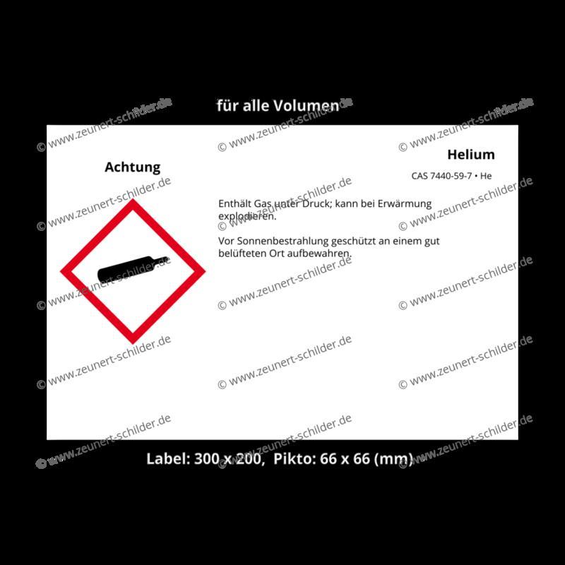 Helium, CAS 7440-59-7