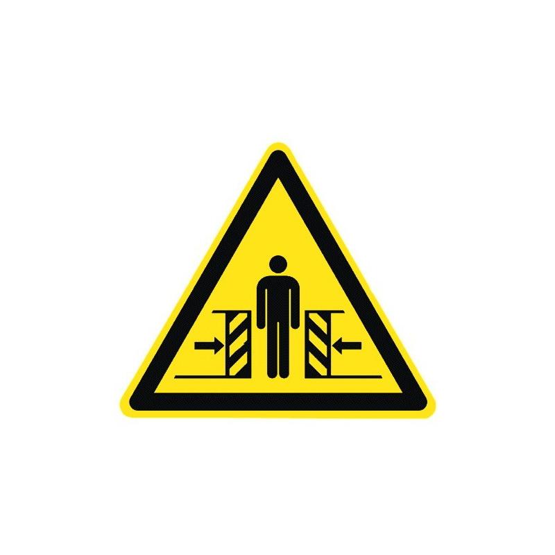 Warnung vor Quetschgefahr - W019