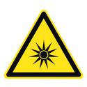 Warnung vor optischer Strahlung - W027