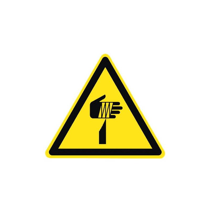 Warnung vor spitzem Gegenstand - DIN EN ISO 7010 - W022
