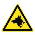 Warnung vor Wachhund - DIN EN ISO 7010 - W013