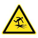 Warnung vor dünnem Eis - DIN 4844