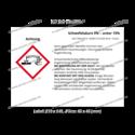 Schwefelsäure 5% – unter 15%, CAS 7664-93-9