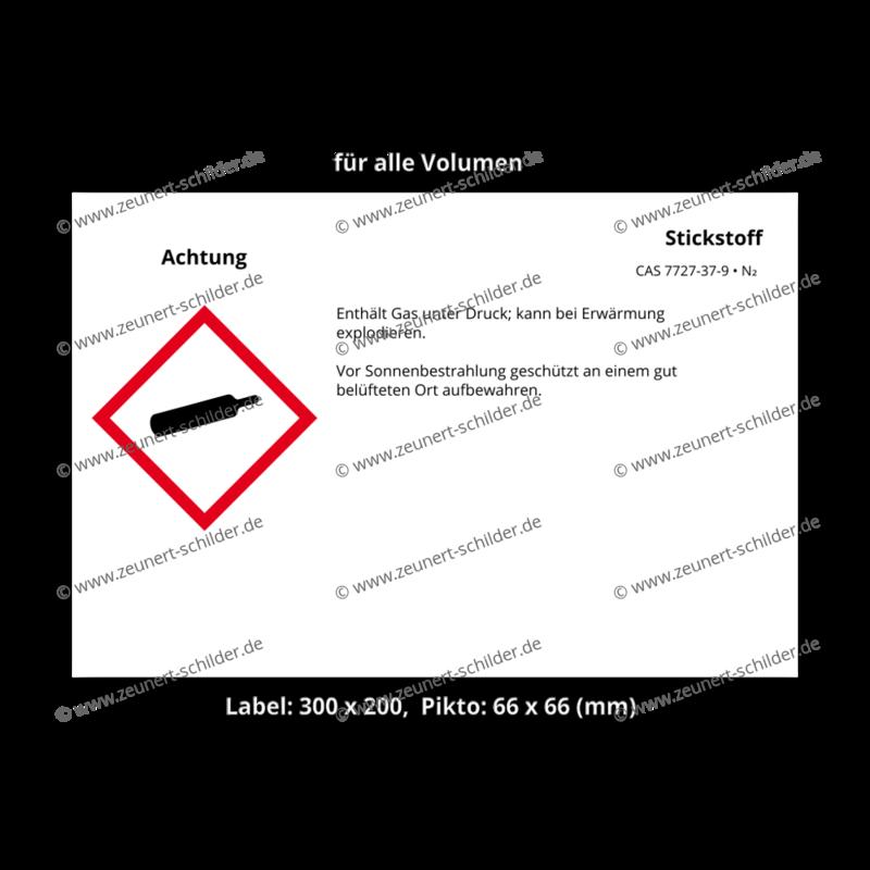 Stickstoff, CAS 7727-37-9
