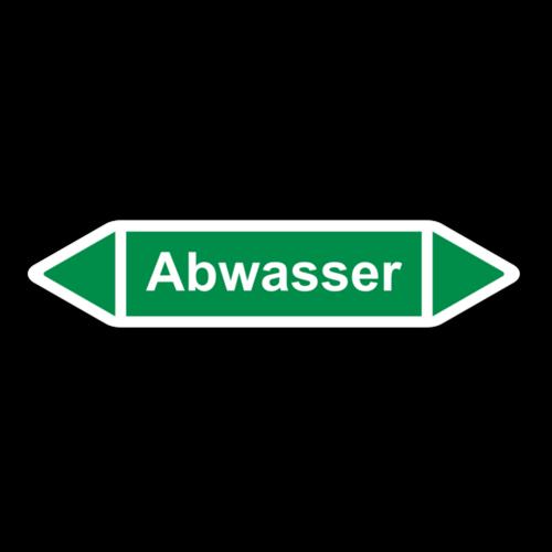 """Rohrleitungskennzeichnung """"Abwasser"""""""