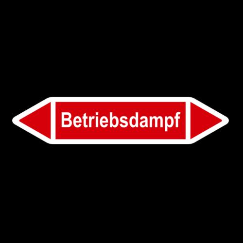 """Rohrleitungskennzeichnung """"Betriebsdampf"""""""