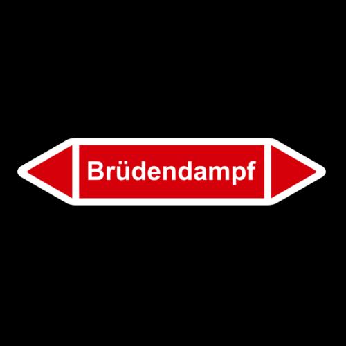 """Rohrleitungskennzeichnung """"Brüdendampf"""""""