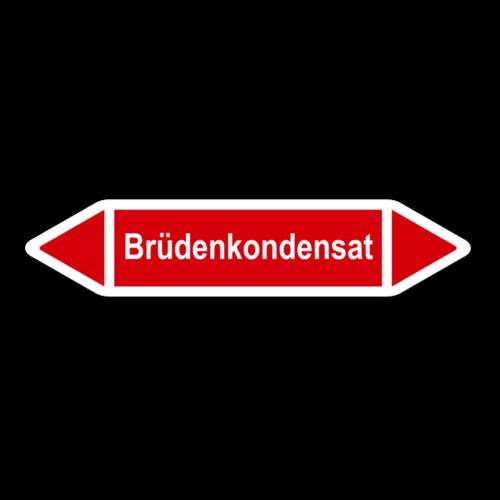 """Rohrleitungskennzeichnung """"Brüdenkondensat"""""""