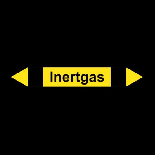 """Rohrleitungskennzeichnung """"Inertgas"""""""