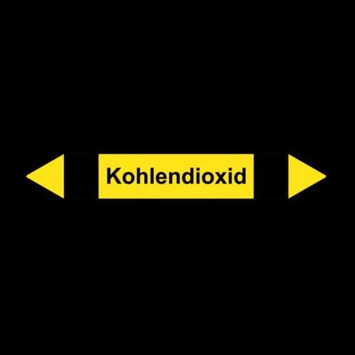 """Rohrleitungskennzeichnung """"Kohlendioxid"""""""