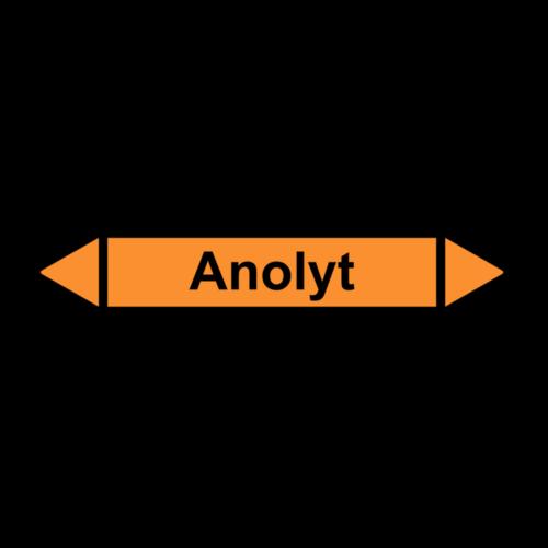 """Rohrleitungskennzeichnung """"Anolyt"""""""