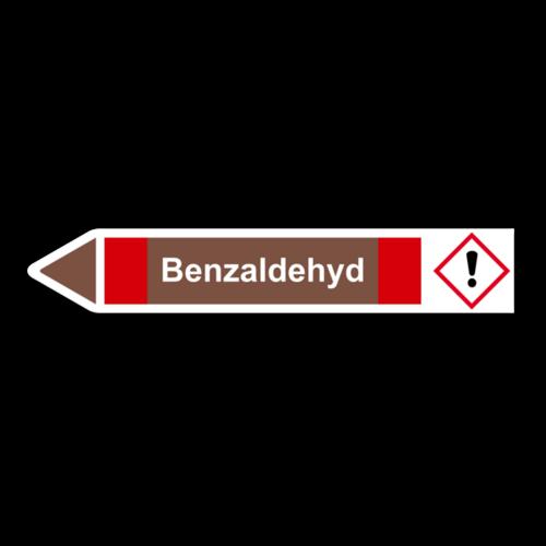 """Rohrleitungskennzeichnung """"Benzaldehyd"""""""