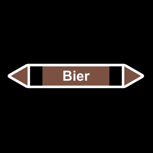 """Rohrleitungskennzeichnung """"Bier"""""""