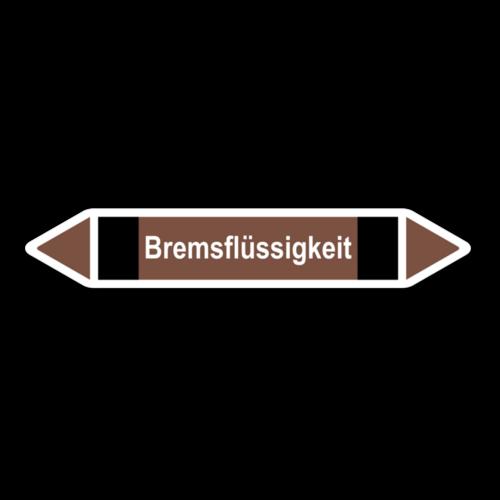 """Rohrleitungskennzeichnung """"Bremsflüssigkeit"""""""