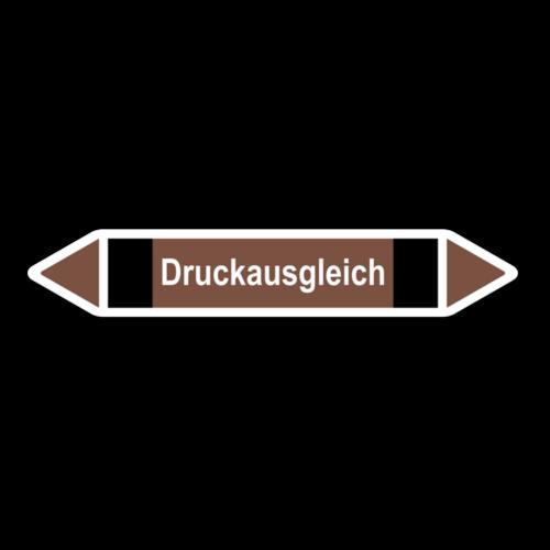 """Rohrleitungskennzeichnung """"Druckausgleich"""""""