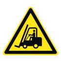 Warnung vor Flurförderzeugen - W014