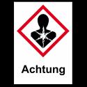 """GHS Etikett """"Gesundheitsgefahr"""" GHS08"""
