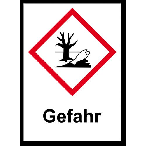 "GHS Etikett ""Umwelt"" GHS09"