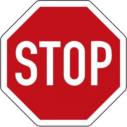 STOP - StVO-206