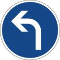 Vorgeschriebene Fahrtrichtung links - StVO-209-10