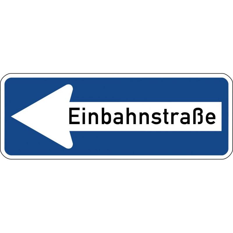Einbahnstraße linksweisend - StVO-220-10