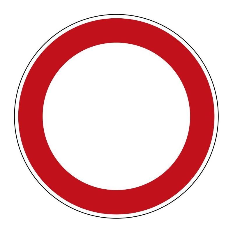 Verbot für Fahrzeuge aller Art - StVO-250