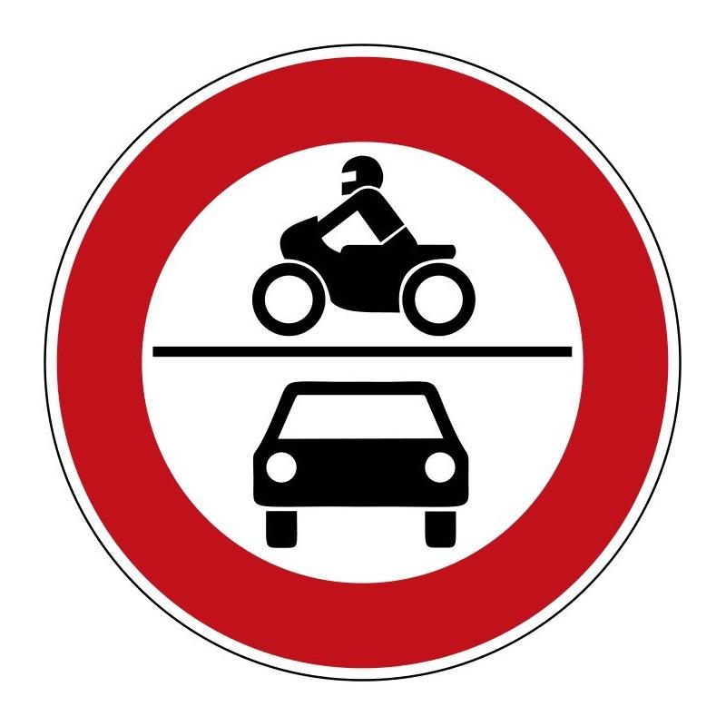 Verbot für Kraftwagen und Krafträder - StVO-260