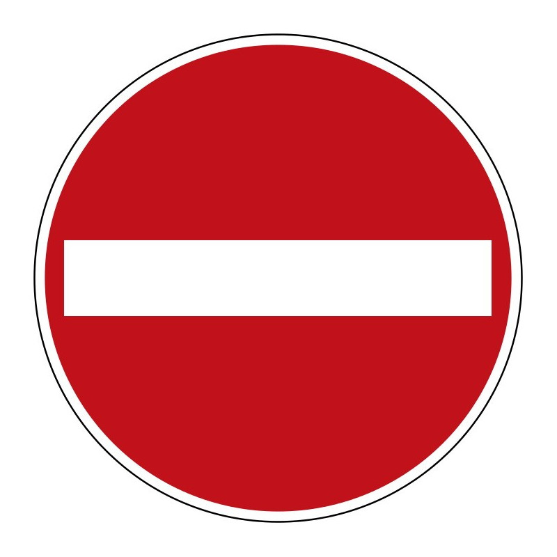 Verbot der Einfahrt - StVO-267