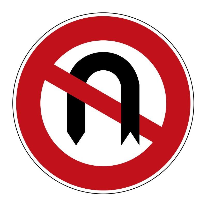 Verbot des Wendens - StVO-272