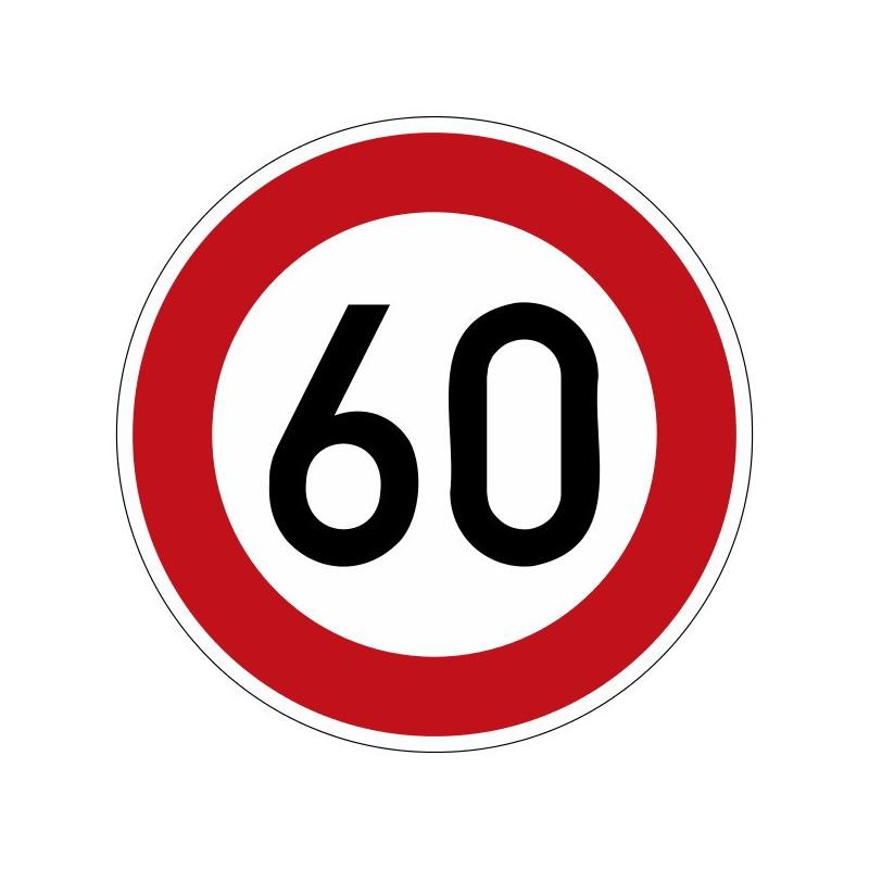 Zulässige Höchstgeschwindigkeit, mit Wunschtext - StVO-274