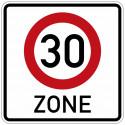 Beginn einer Tempo 30-Zone - StVO-274.1