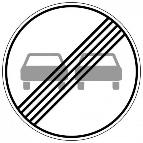 Ende des Überholverbots für Kraftfahrzeuge aller Art - StVO-280