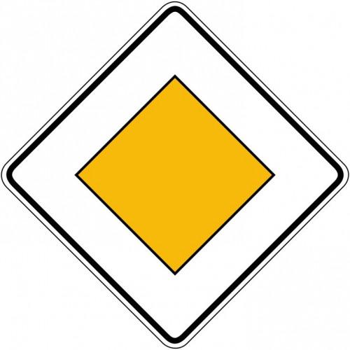 Vorfahrtsstraße - StVO-306