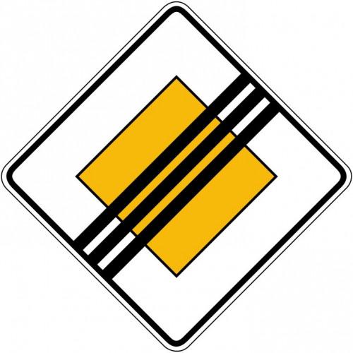 Ende der Vorfahrtsstraße - StVO-307