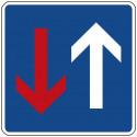 Vorrang vor dem Gegenverkehr - StVO-308