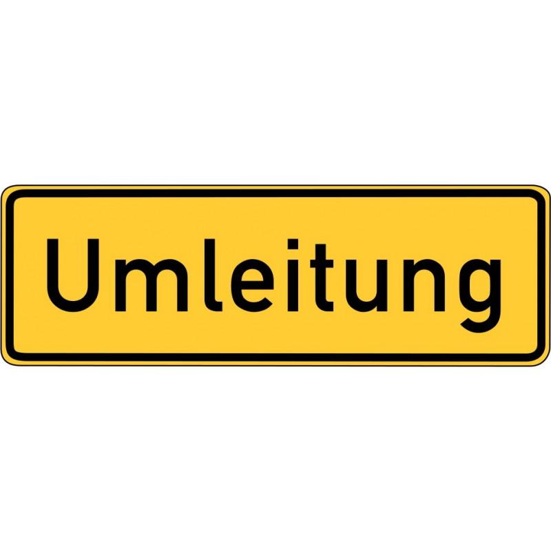 Umleitung - StVO-457.1