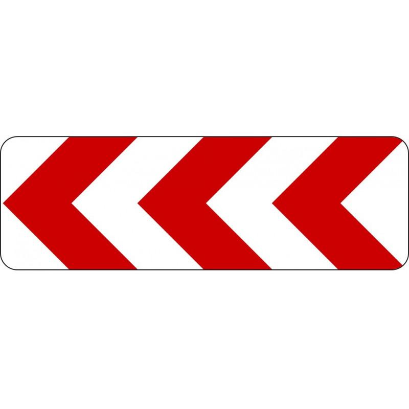 Richtungstafel in Kurven (links) - StVO-625-10