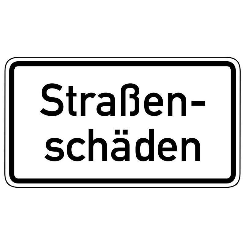 Straßenschäden - StVO-1006-34